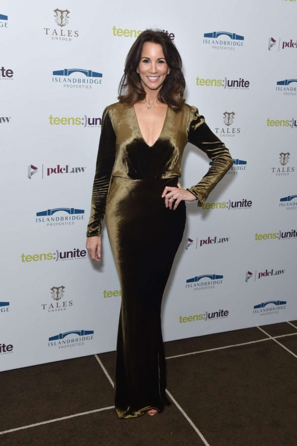 Andrea McLean - Teens Unite Annual Fundraising Gala in London