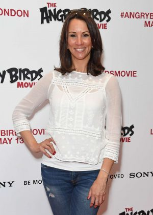 Andrea McLean - The Angry Birds Gala Screening in London