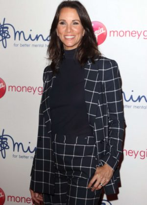Andrea McLean - Virgin Money Giving 'Mind Media' Awards in London