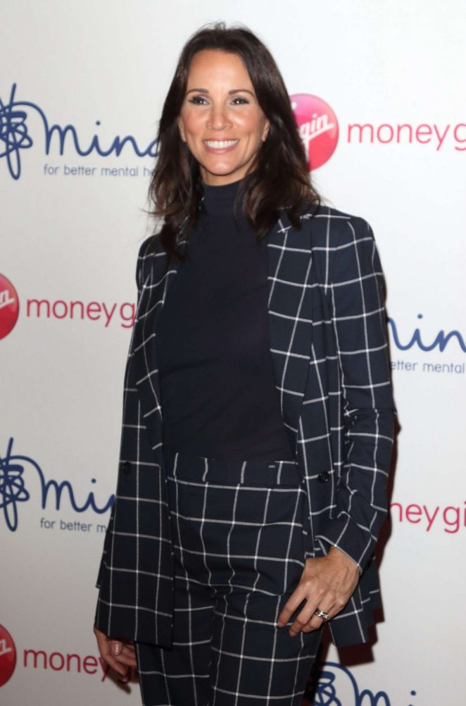 Andrea McLean - Virgin Money Giving 'Mind Media' Awards in London