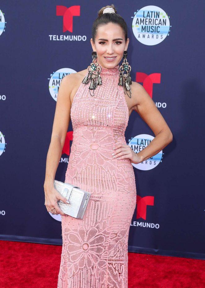 Andrea Minski - 2018 Latin American Music Awards in Los Angeles