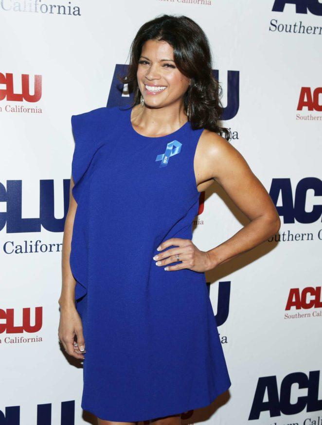 Andrea Navedo - 2017 ACLU SoCal's Annual Bill of Rights Dinner in LA
