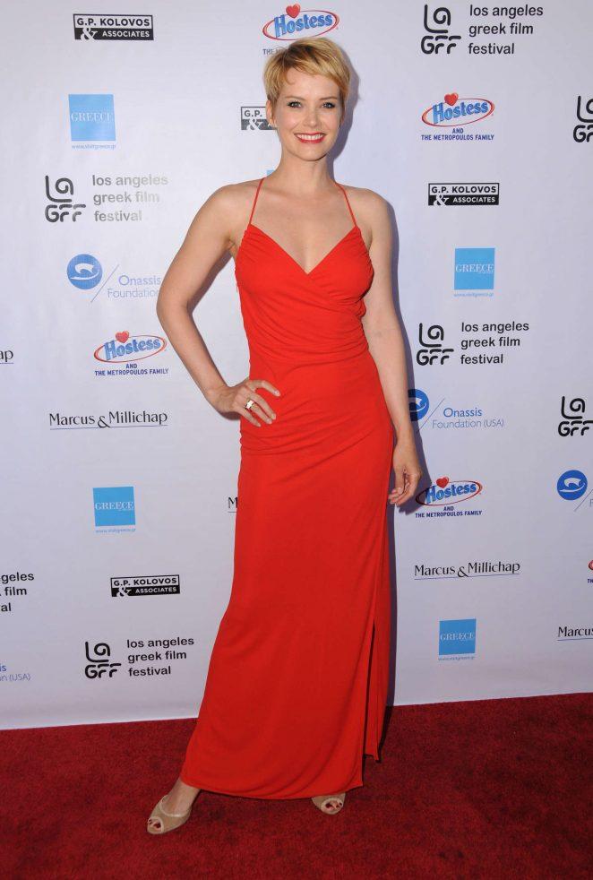 Andrea Osvart - 'Worlds Apart' Premiere at 2016 LA Greek Film Festival in Hollywood