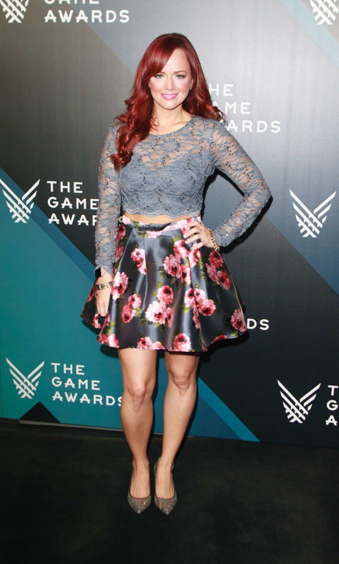 Andrea Rene - The Game Awards 2017 in Los Angeles