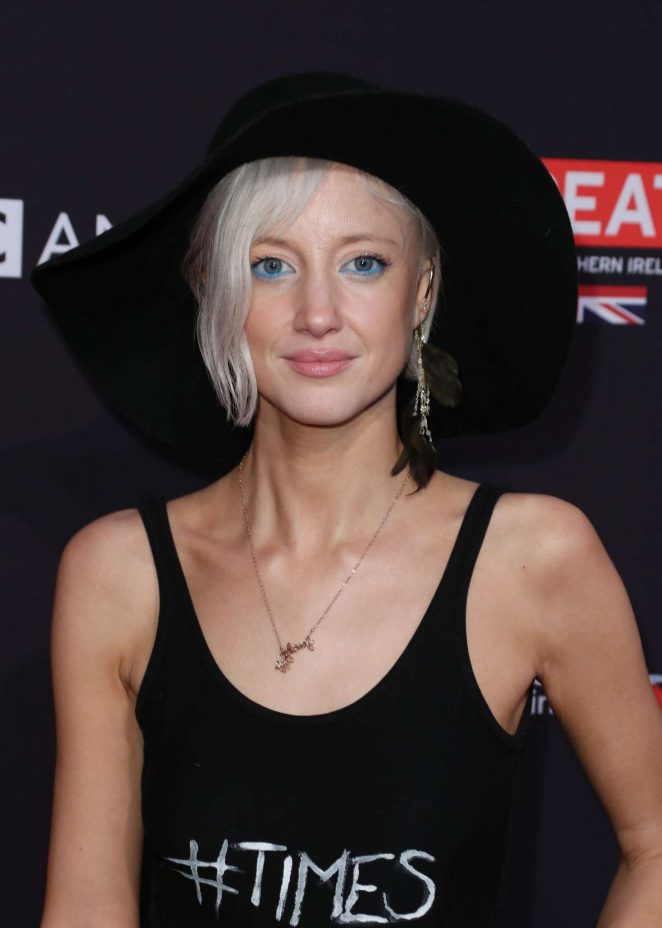 Andrea Riseborough - 2018 BAFTA Los Angeles Tea Party in Los Angeles