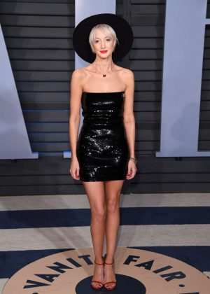 Andrea Riseborough - 2018 Vanity Fair Oscar Party in Hollywood