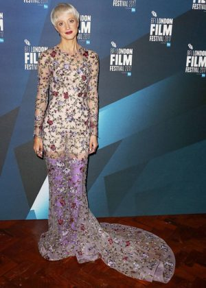 Andrea Riseborough - 61st BFI London Film Festival Awards in London