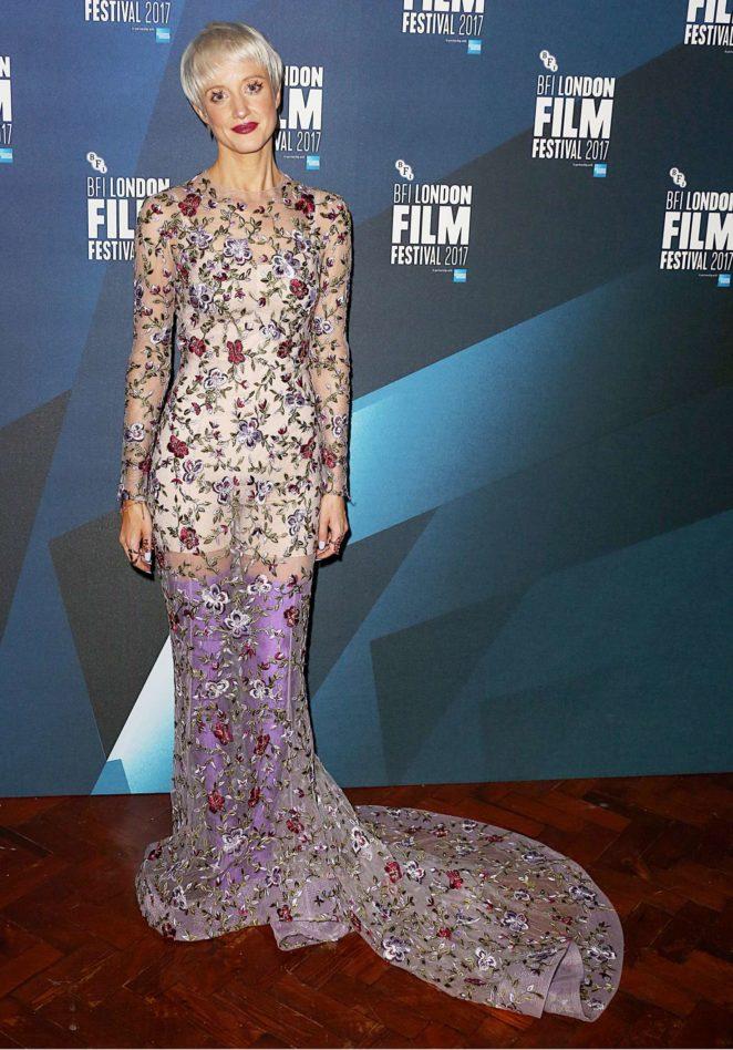 Andrea Riseborough - 61st BFI London Film Festival Awards in London