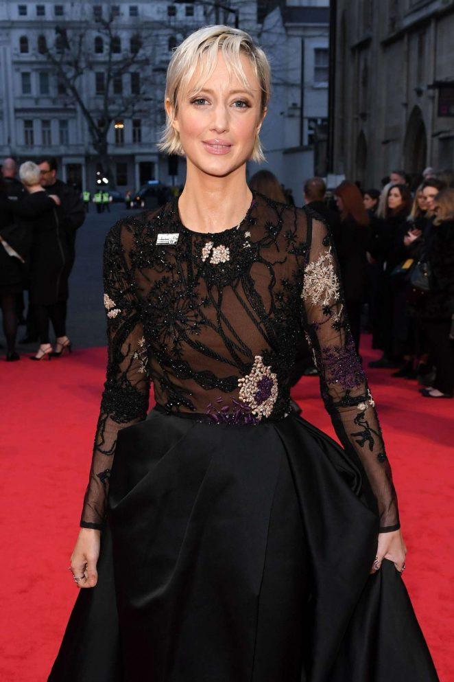 Andrea Riseborough - 2018 BAFTA Awards in London