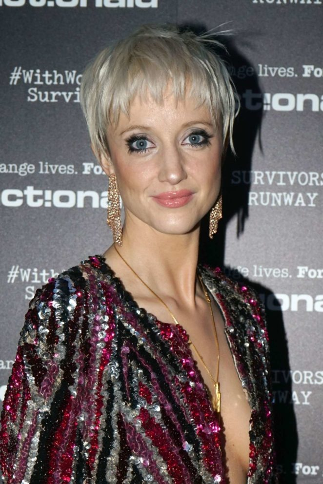 Andrea Riseborough - Actionaid Survivors Runway Fashion Show in London