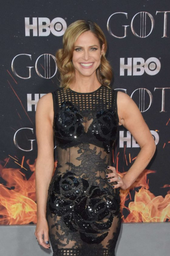 Andrea Savage - 'Game of Thrones' Season 8 Premiere in New York