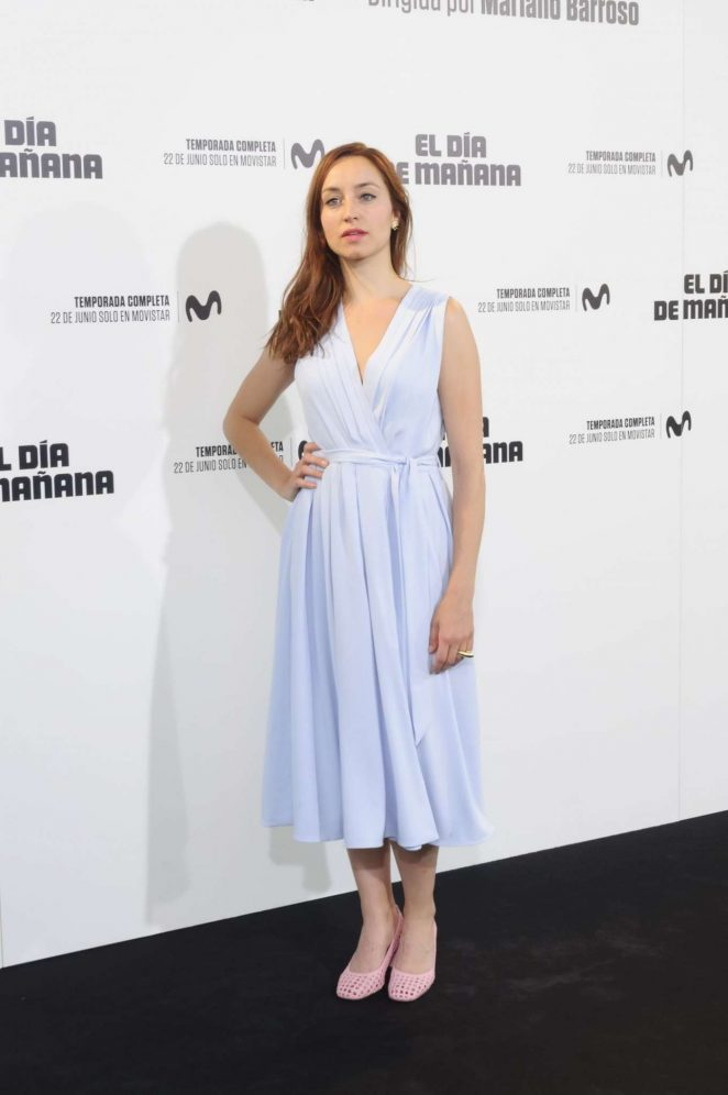 Andrea Trepat - 'El Dia de Manana' Premiere in Madrid