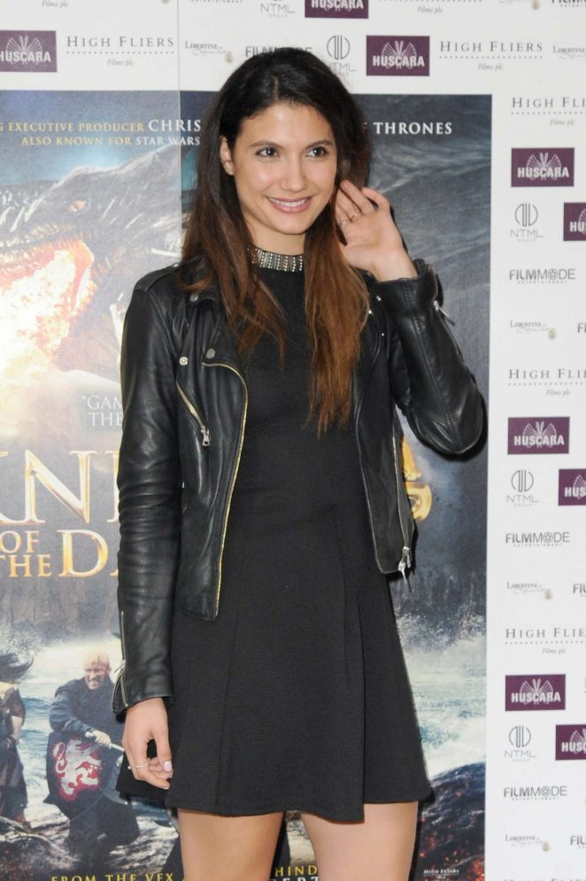 Andrea Vasiliou - 'Knights of the Damned' Premiere in London