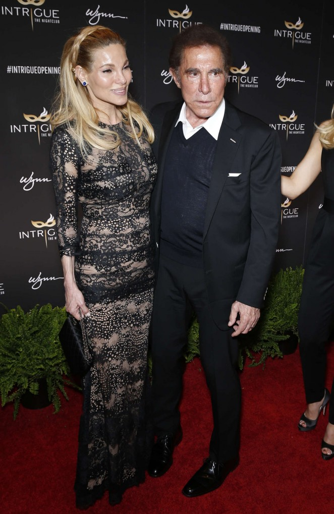 Andrea Wynn - Grand Opening Of Intrigue Nightclub in Las Vegas