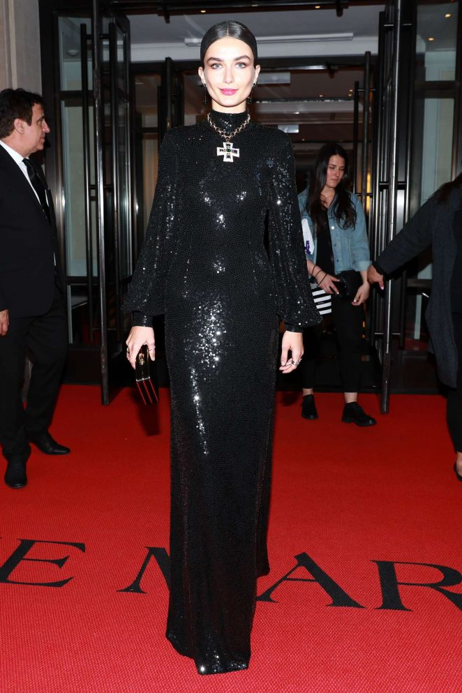 Andreea Diaconu – 2018 MET Costume Institute Gala in NYC