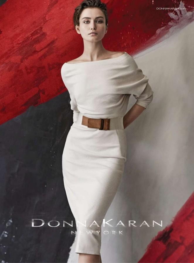 Andreea Diaconu - Donna Karan Spring 2015 Ad Campaign