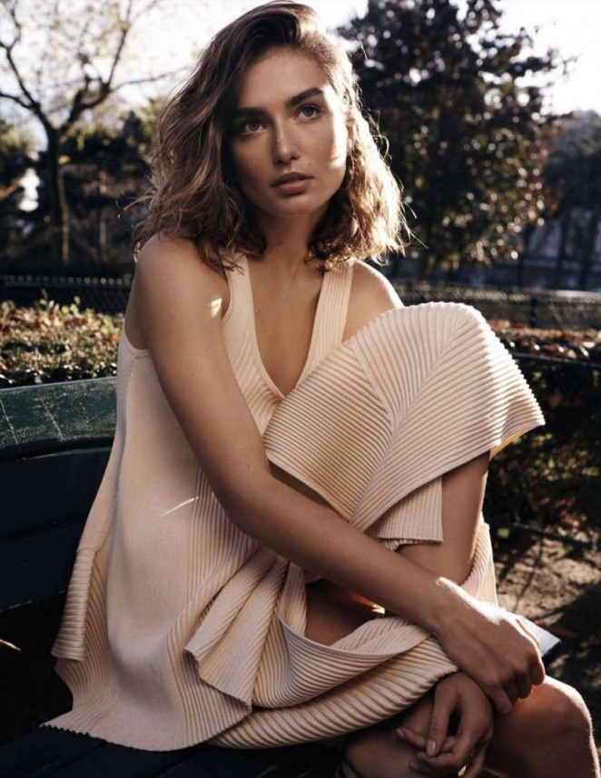 Andreea Diaconu - Vogue Spain Magazine (February 2015)