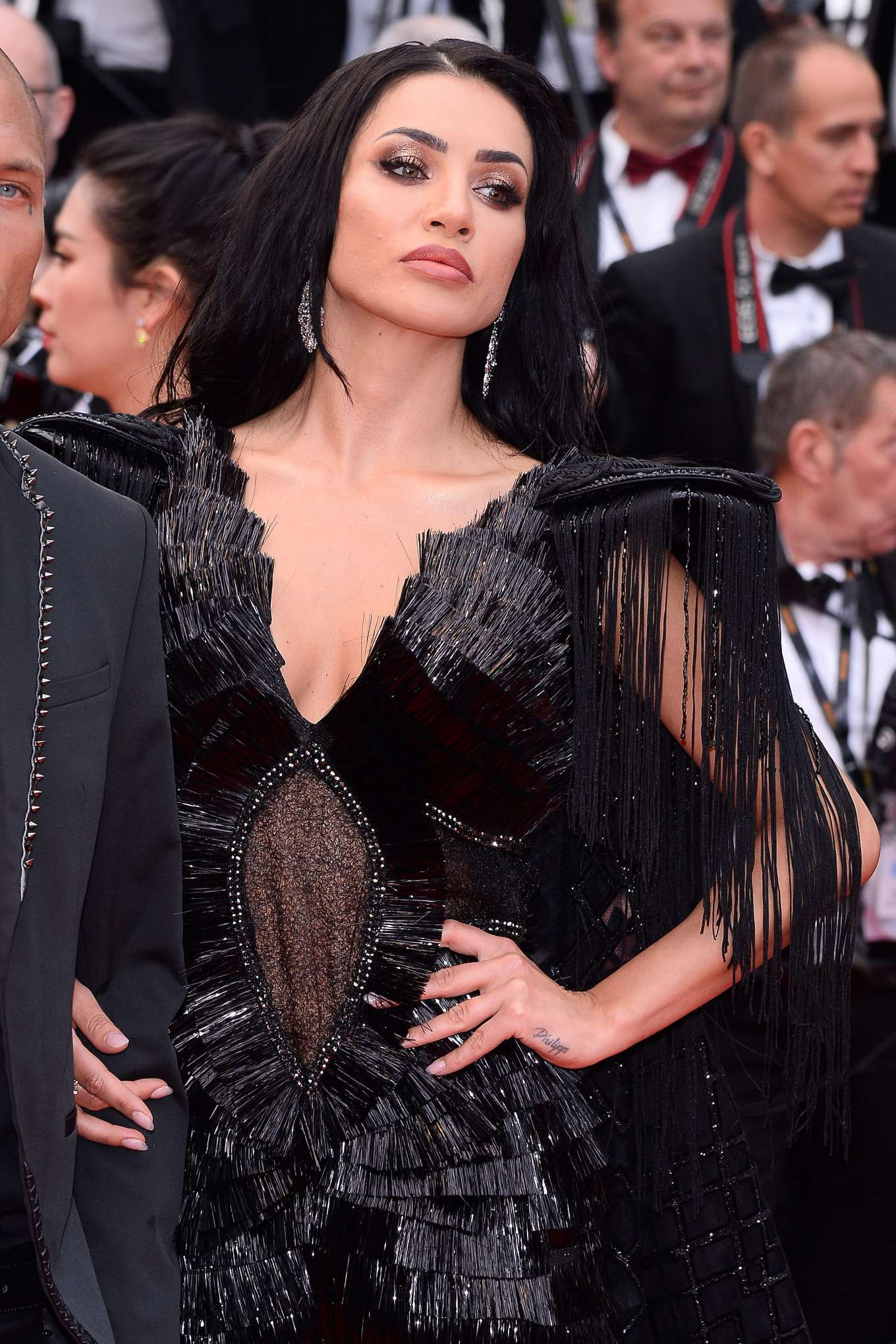 Andreea Sasu and Jeremy Meeks – 2019 Cannes Film Festival ...  |Andreea Sasu