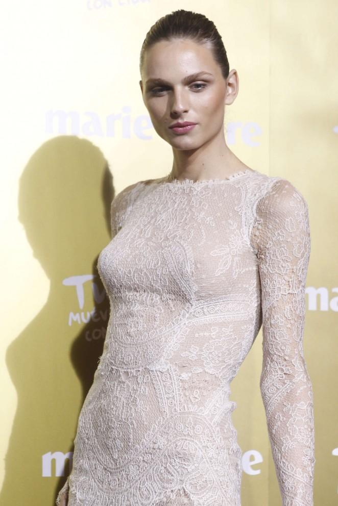 Andreja Pejic - 2015 Marie Claire Prix de la Moda in Madrid