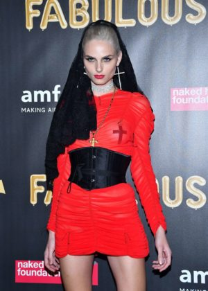 Andreja Pejic - 2017 amfAR Fabulous Fund Fair in NYC