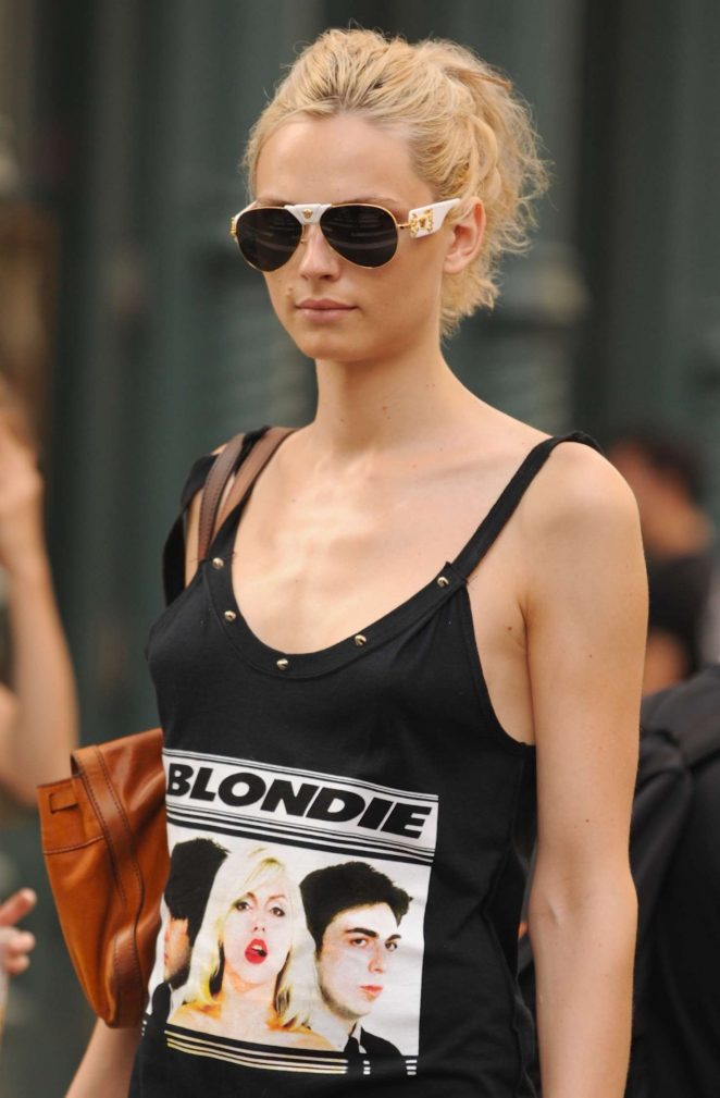 Andreja Pejic out in New York City