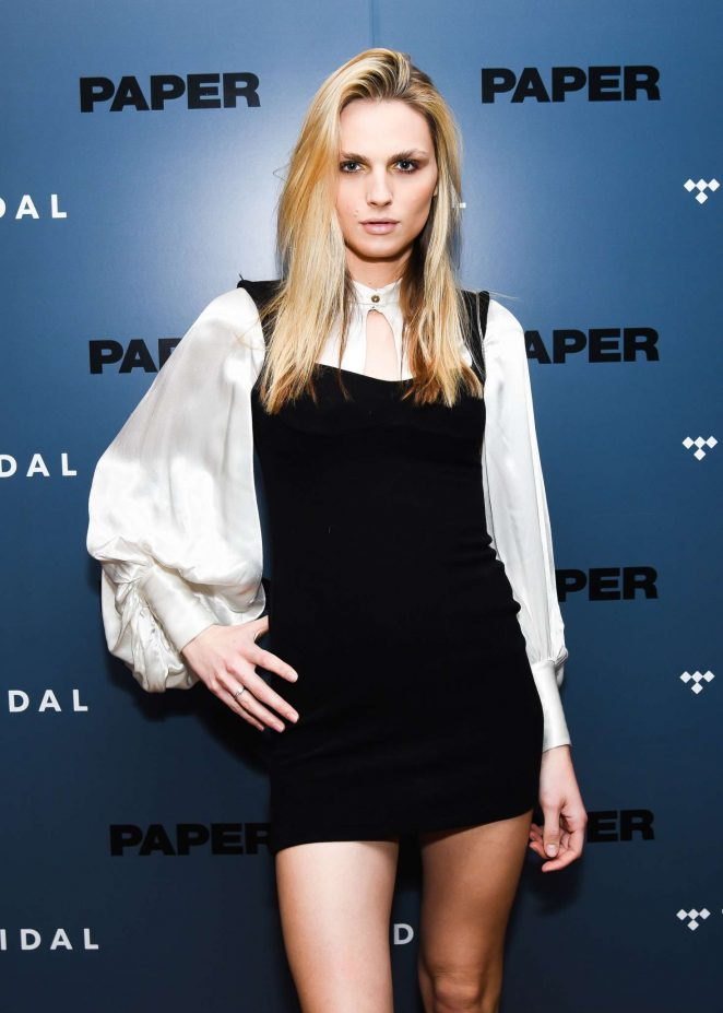 Andreja Pejic - Paper Magazine and Tidal Present: The Outspoken Issue with Bella Hadid in NY