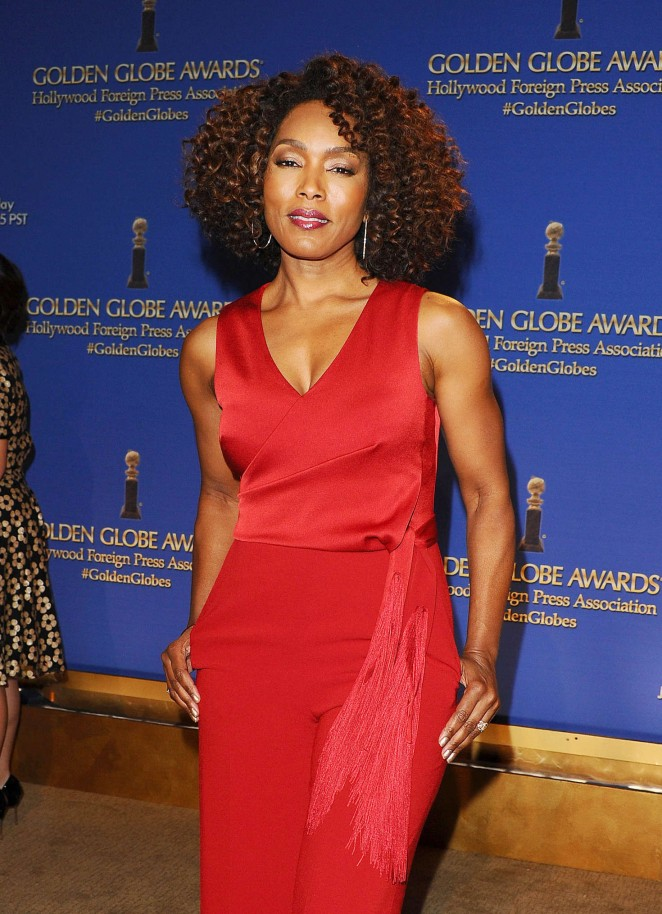 Angela Bassett - 73rd Annual Golden Globe Nominations in LA