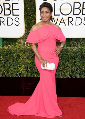 Angela Bassett - 74th Annual Golden Globe Awards in Beverly Hills