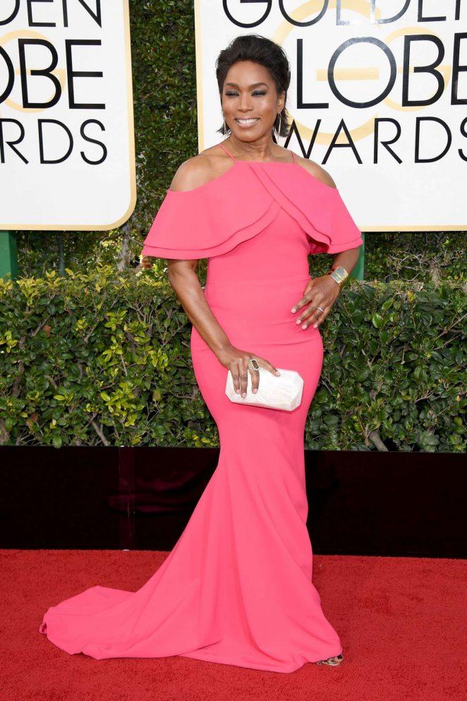 Angela Bassett - 74th Annual Golden Globe Awards in Beverly Hills