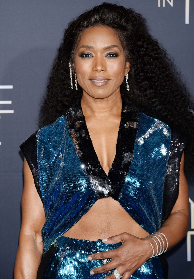 Angela Bassett - 'A Wrinkle in Time' Premiere in Los Angeles