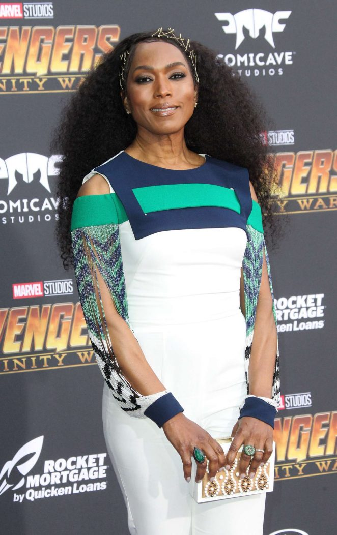 Angela Bassett - 'Avengers: Infinity War' Premiere in Los Angeles