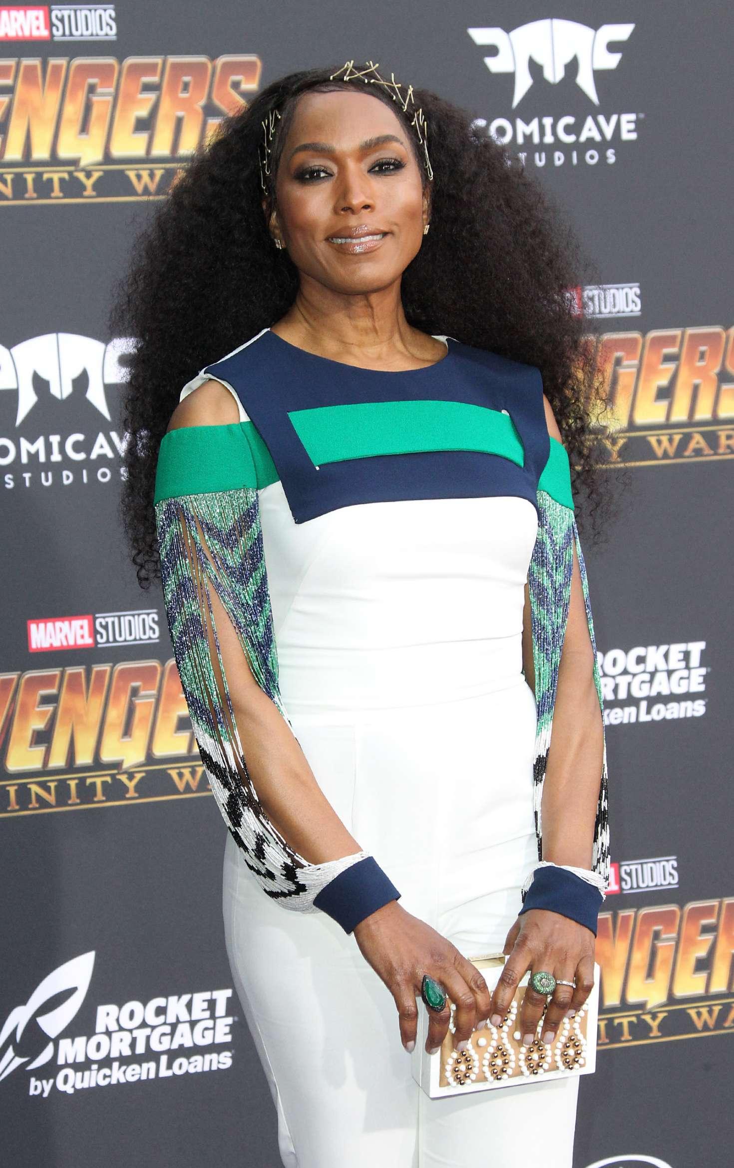 Angela Bassett - 'Avengers: Infinity War' Premiere in Los Angeles