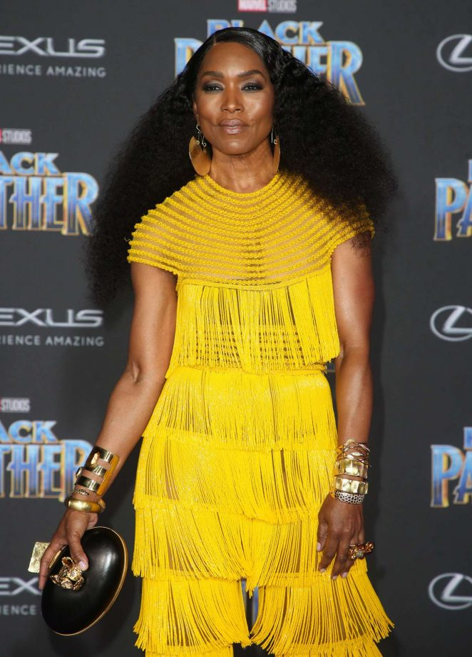 Angela Bassett - 'Black Panther' Premiere in Hollywood