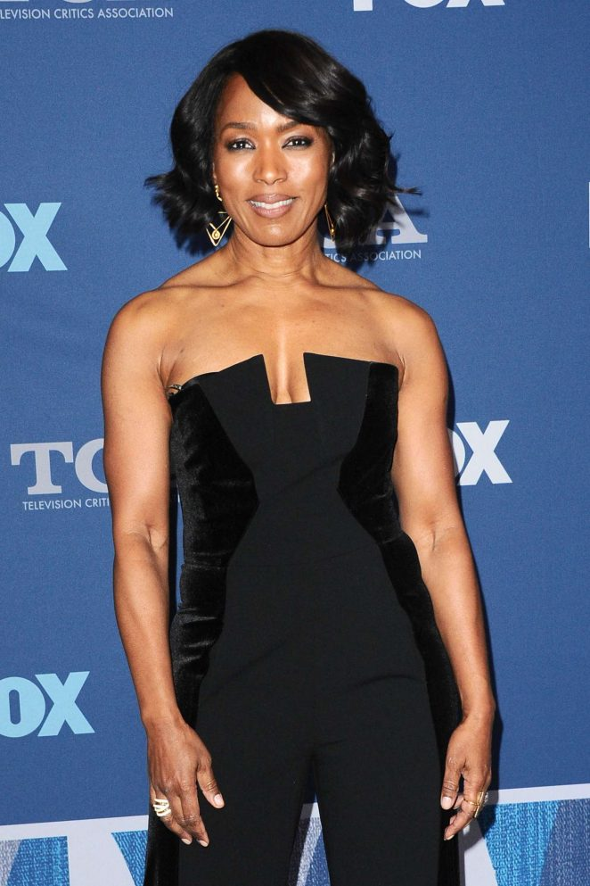 Angela Bassett - FOX Winter All-Star Party at TCA Winter Press Tour in LA