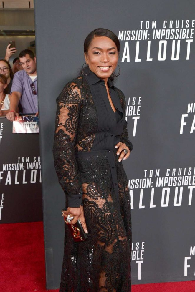 Angela Bassett - 'Mission: Impossible: Fallout' Premiere in Washington