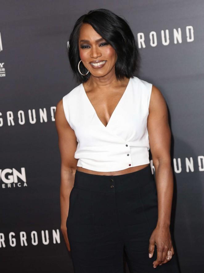 Angela Bassett - 'Underground' Premiere in LA