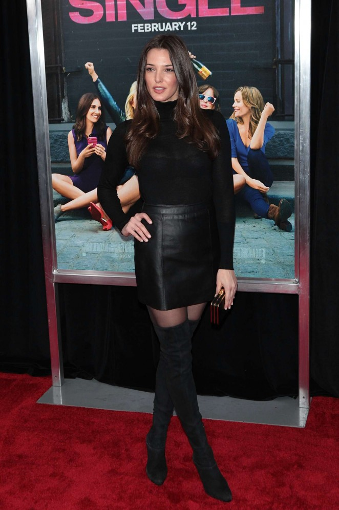 Angela Bellotte: How To Be Single NY Premiere -03