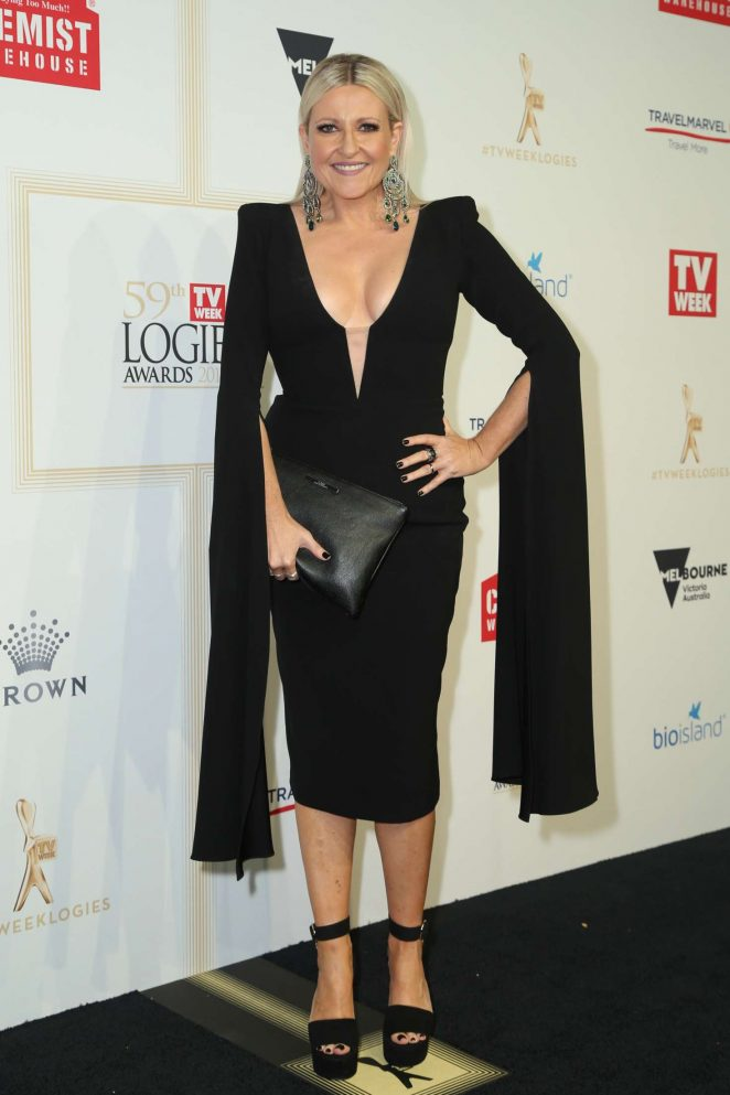 Angela Bishop - 2017 Annual TV Week Logie Awards in Melbourne