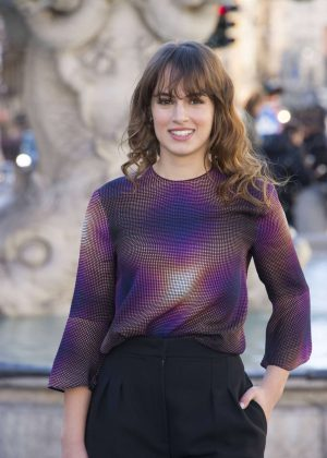 Angela Curri - 'The Mafia Kills Only in the Summer' Photocall in Rome
