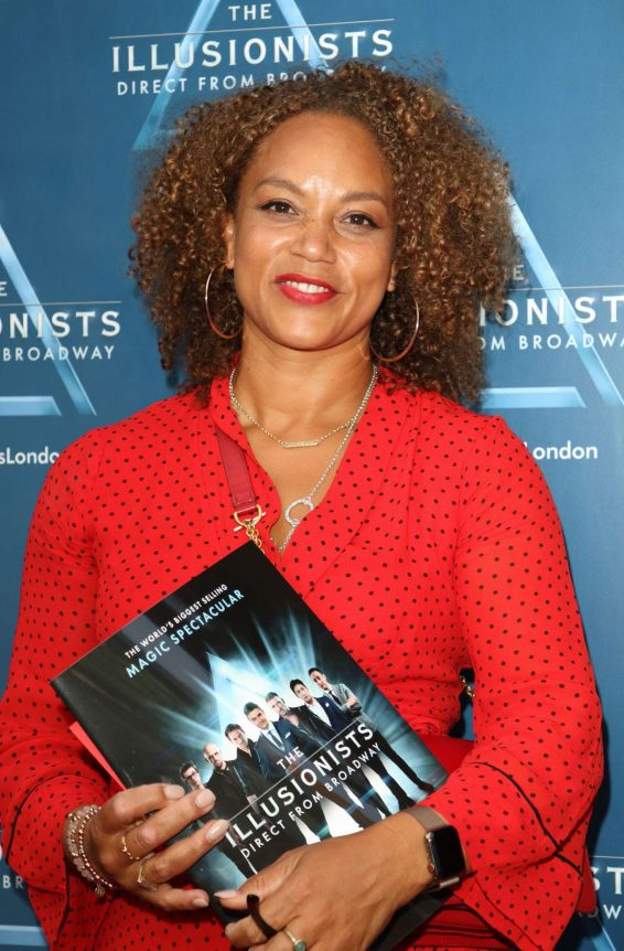 Angela Griffin - The Illusionists Press Night in London