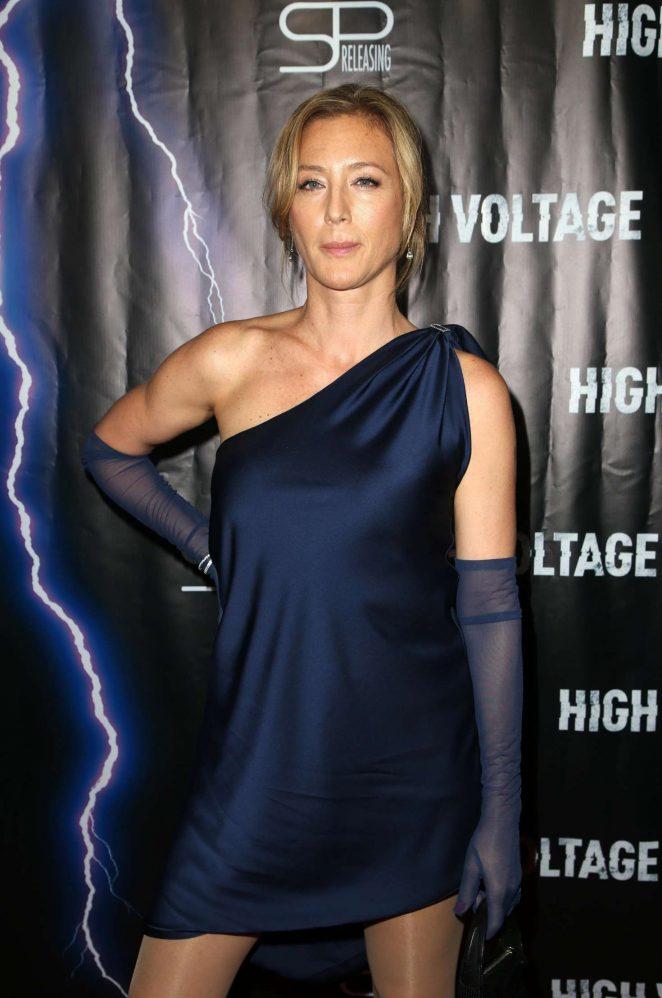 Angela Hadnagy - 'High Voltage' Premiere in Los Angeles