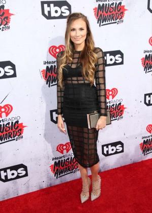 Angela Lanter - iHeartRadio Music Awards 2016 in Los Angeles