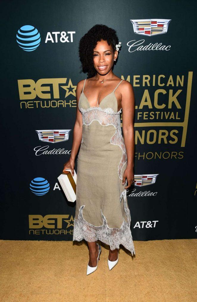 Angela Lewis - 2018 American Black Film Festival in Los Angeles