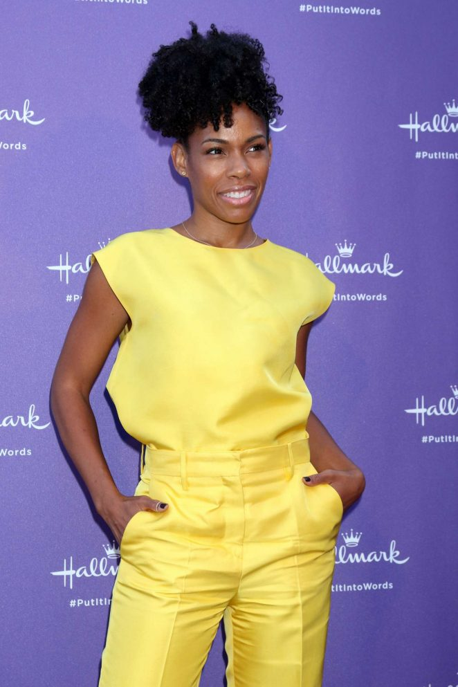 Angela Lewis - Launch Party for Hallmark's Put It Into Words Campaign in LA