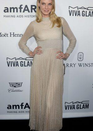 Angela Lindvall - 2016 amfAR Inspiration Gala in Los Angeles