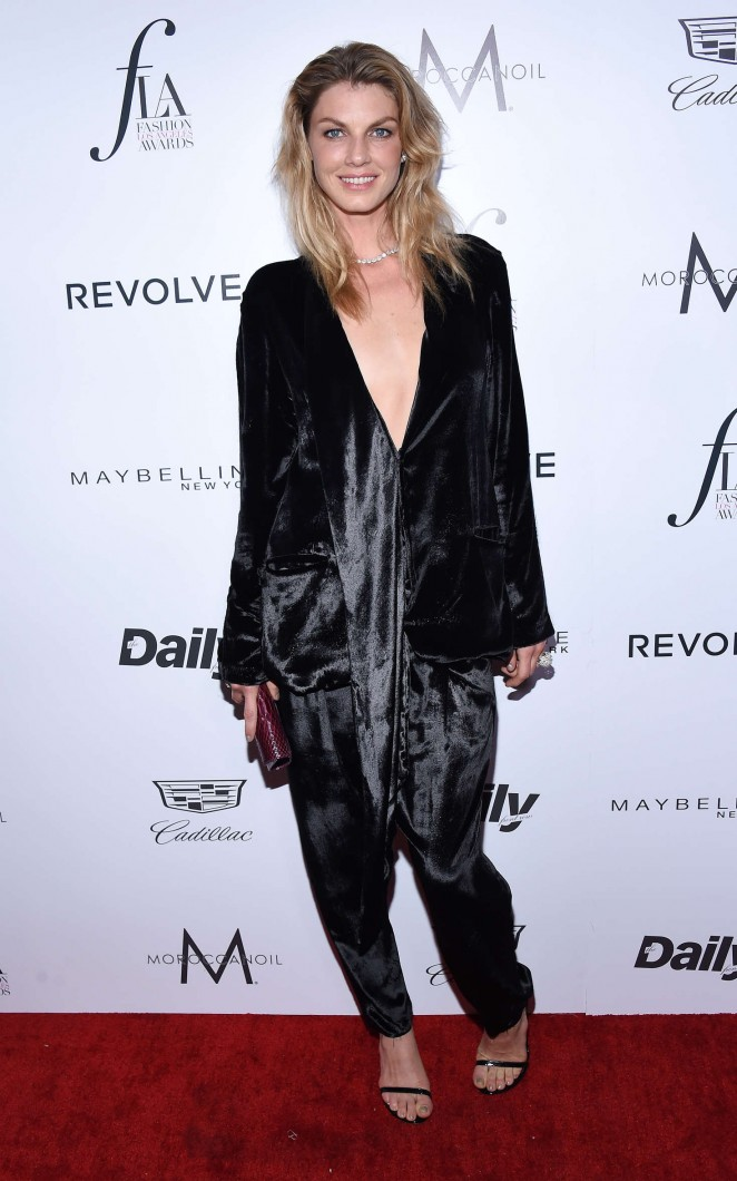 Angela Lindvall - 2nd Annual Fashion Los Angeles Awards in LA
