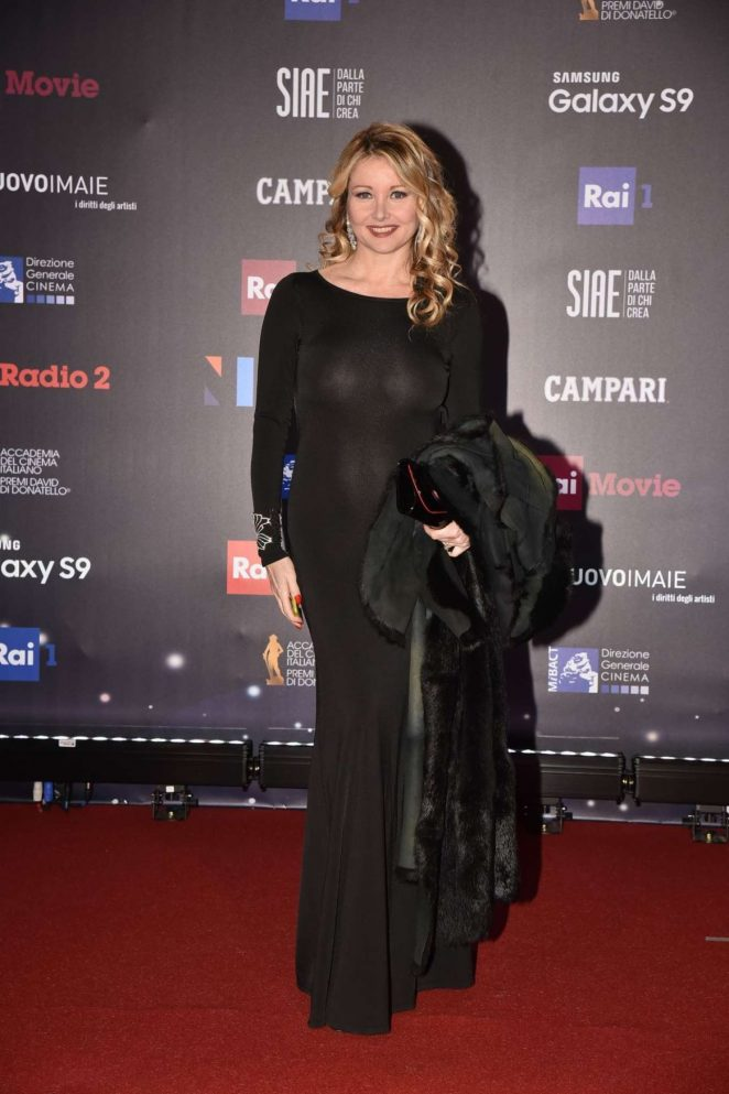 Angela Melillo - David Di Donatello Award Ceremony 2018 in Rome