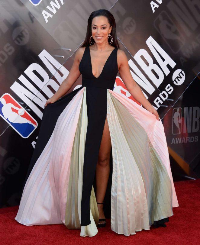 Angela Rye - 2018 NBA Awards in Santa Monica