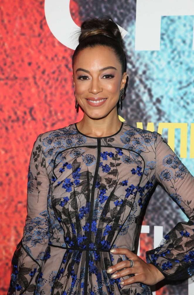 Angela Rye - 'The Chi' Premiere in Los Angeles