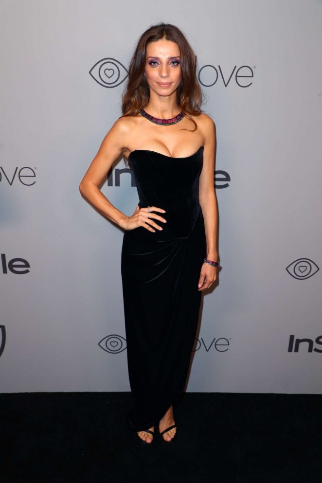 Angela Sarafyan - 2018 InStyle and Warner Bros Golden Globes After Party in LA